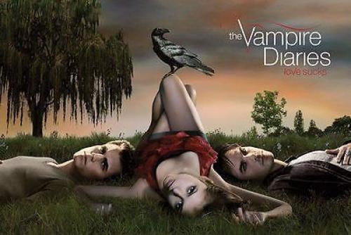 VAMPIRE DIARIES LOVE SUCKS POSTER 61x91