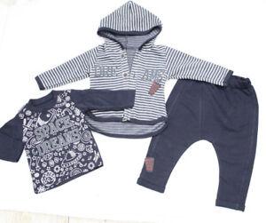 Baby & Toddler Clothing Boys' Clothing (newborn-5t) Babyset 3tlg Starterset Jungen Erstlingsset Blau Newborn 68 74 80 Baumwolle Beneficial To Essential Medulla Devoted Neu