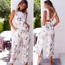 141135d12f1 item 1 Women Floral Tie Back Wide Leg Jumpsuit Ladies Cut Out Evening Party  Playsuit -Women Floral Tie Back Wide Leg Jumpsuit Ladies Cut Out Evening  Party ...