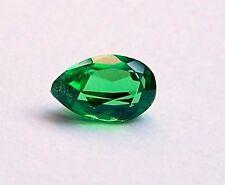 UKM  Tsavorit  grüner Granat   6,6 x 4,3 mm  Tropfen  0,64 Carat
