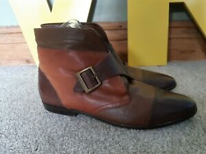 80s 90s brown ankle boot vintage