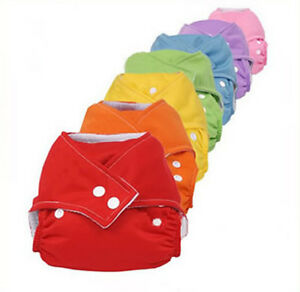 Infant-Baby-Reusable-Washable-Adjustable-Cloth-Diaper-Nappies-All-in-One-Size