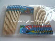 20 banderas Cupcake/Toppers-Finding Nemo Para Niños Fiesta De Cumpleaños