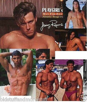 PLAYGIRL 7-95 JULY 1995 RICHARD GRIECO JIMMY ROGERS DOUG KOZIAK JOHN HOLLIDAY