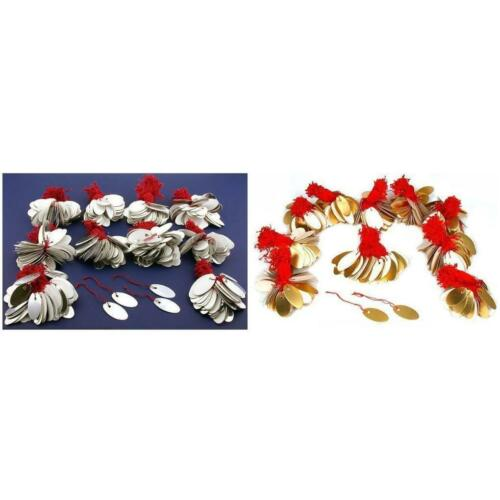 Gold /& Silver Colored String Jewelry Price Tags Kit 2000 Pcs