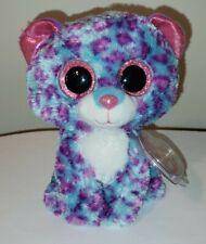 """pequena Regular 6/"""" Ty Beanie Boos com etiquetas Dreamer Leopard exclusivo"""