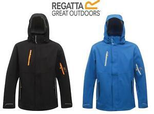 Regatta Mens X-Pro Exosphere Stretch Waterproof Hooded Jacket