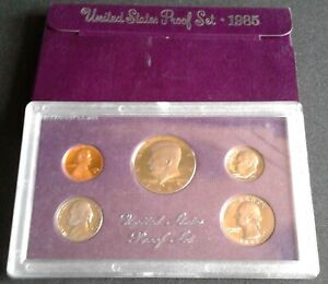 1985-S-United-States-US-Mint-Proof-Set-Original-Government-Packaging