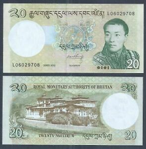 Bhutan-2013-20-Ngultrum-UNC-2013-20-L06029708