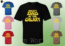 Men T-Shirt - Best Dad In The Galaxy - Cute Design Men Shirts