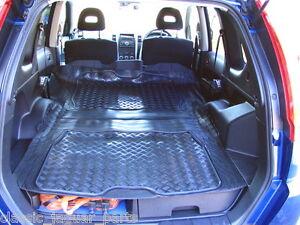 nissan x trail t31 2007 on rubber boot mat liner options. Black Bedroom Furniture Sets. Home Design Ideas