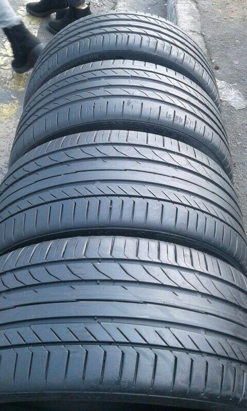 Almost new BMW & Mercedes 19 inch runflats tyres for sell