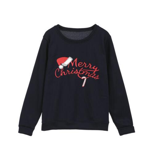 2019 Christmas Xmas Kids Mom Dad Pullover Sweatshirt Jumper Family Matching Tops