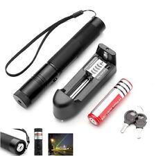 Ultra Puissant Pointeur laser  Vert 1mw 532nm+clé de sécurité +batterie+chargeur