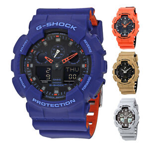 Casio G-Shock Analog-Digital Resin Mens Watch - Choose color