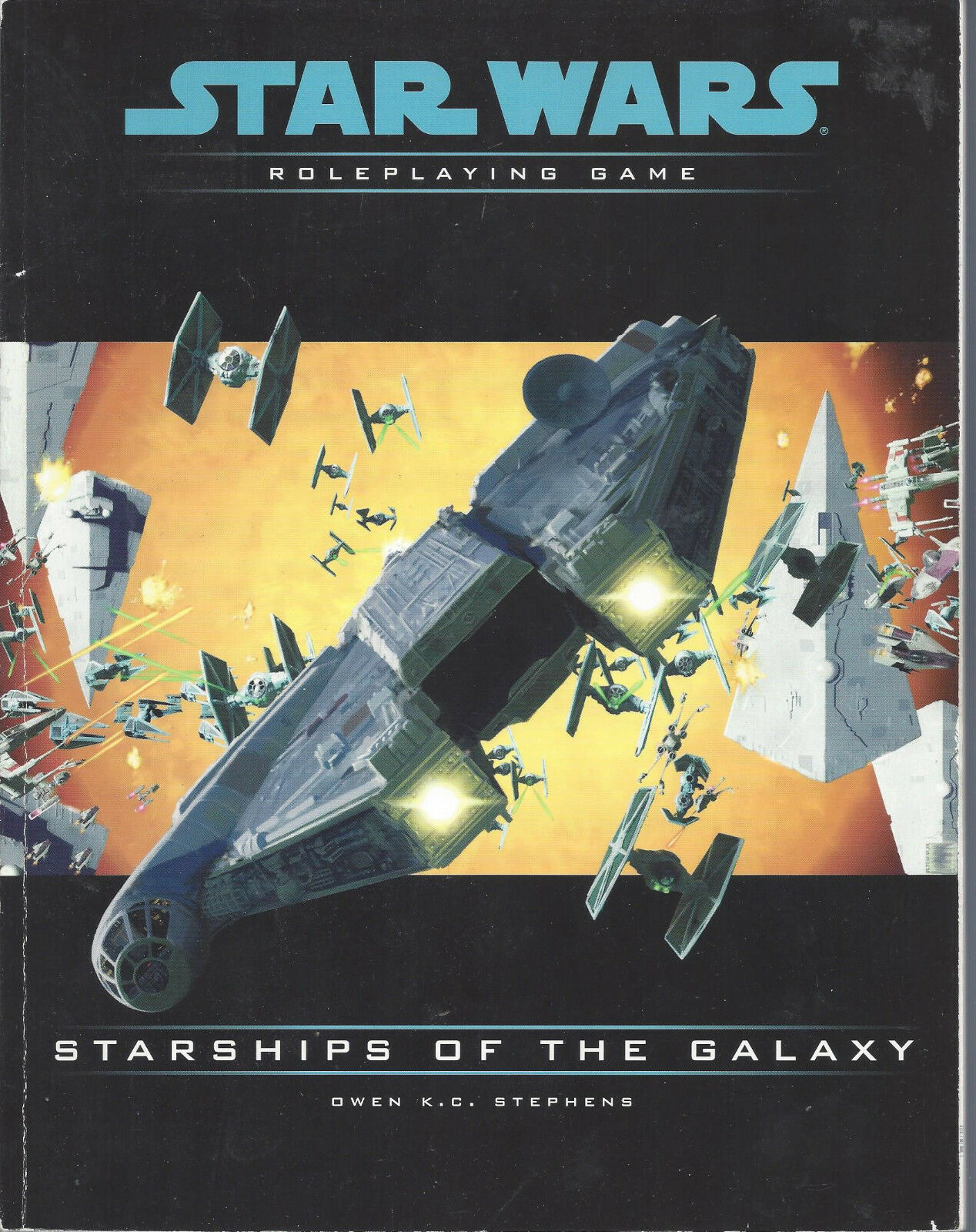 Star Wars RPG  Starships Of The Galaxy  USED  FINE