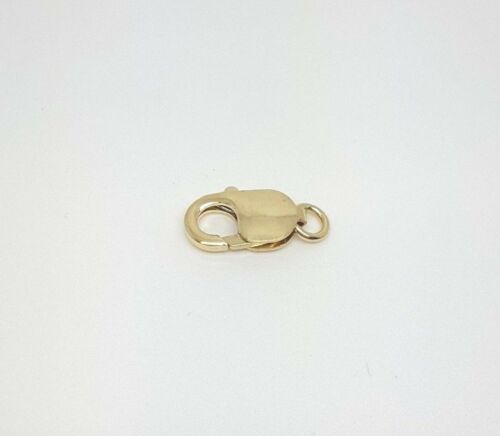 9K 375 Gold Parrot Lobster Clasp x 1 Piece Made in ITALY Aussie Seller