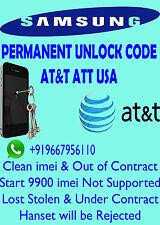 SAMSUNG Unlock Code AT&T Usa Samsung SGH-P207
