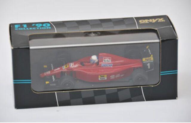 Onyx 075 FERRARI F1-90 F1 Modello Diecast Auto Da Corsa Rosso MARLBORO ALAIN PROST 1:43rd