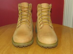 Timberland-3256-Men-039-s-6-Inh-Wheat-Suede-Casual-Boots-SIZE-6