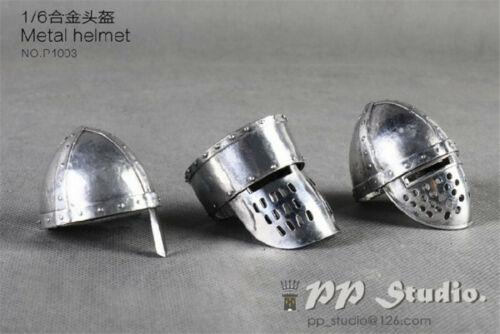 PP STUDIO 1:6 ACTION FIGURE hot Medieval alloy helmet suit in stock