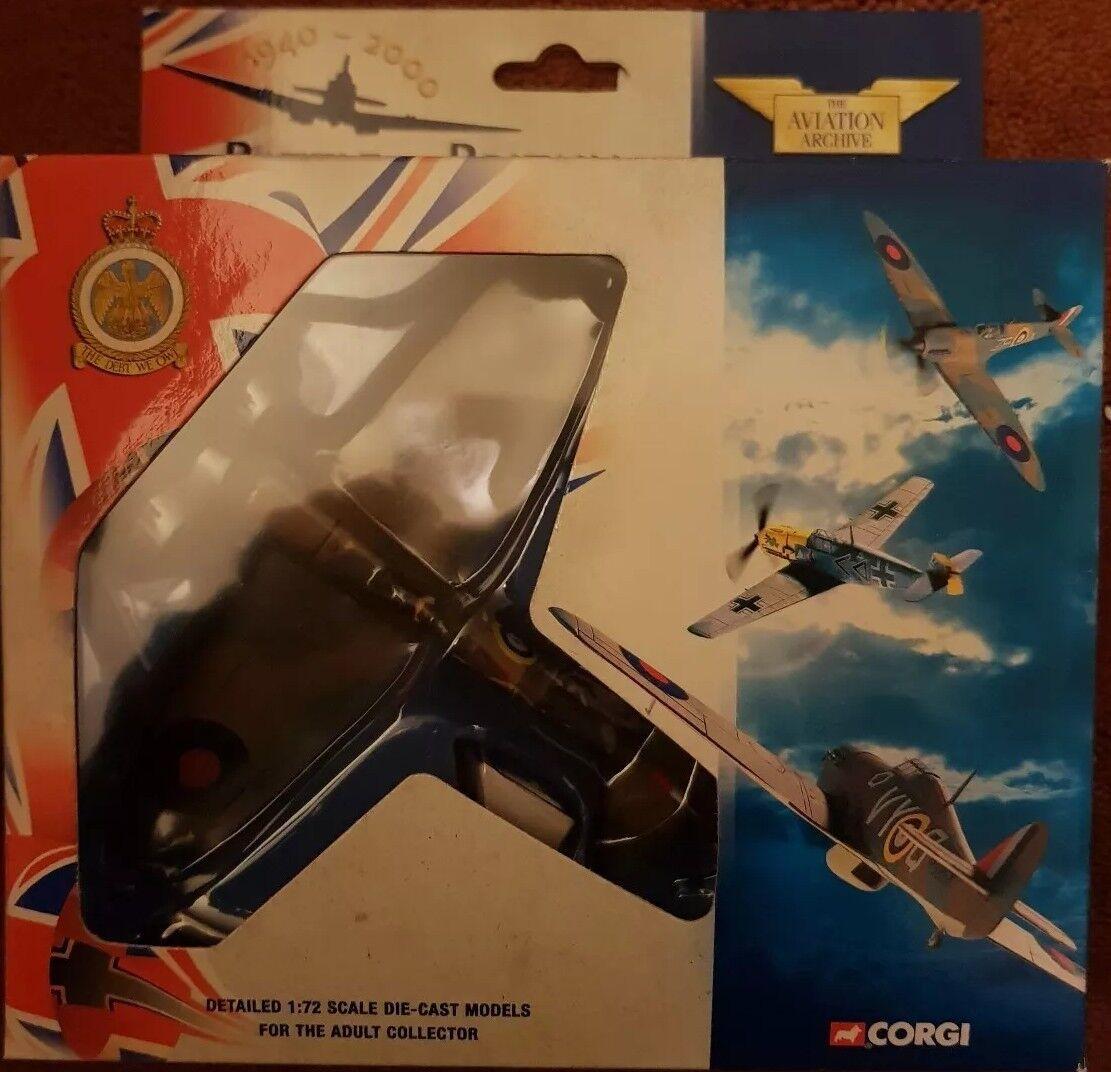 Corgi Aviation Battle of Britain Supermarine Spitfire Flg Off Brian Carbury49004