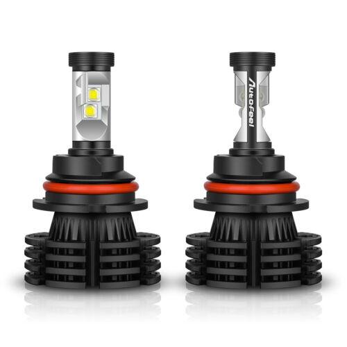 2x 9007 HB5 CREE LED Headlight Kit 195000LM 1300W Hi//Lo Bulbs 6000K White Bright