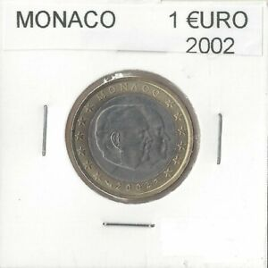 MONACO 2002 1 EURO SUP-