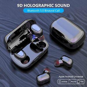 Mini-TWS-Ecouteur-Bluetooth-5-0-Sans-Fil-Stereo-Casque-Ecouteur-Noir-Blanc-FR