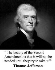 Thomas Jefferson Quote  11 x 14  Photo Picture Poster #bws1