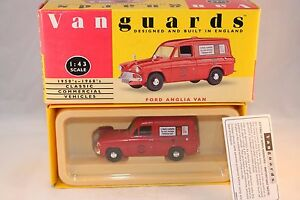 Vanguards-Corgi-VA4000-Ford-Anglia-Van-Royal-Mail-1-43-mint-in-box