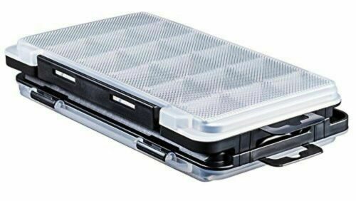 Size 175 x 105 x 18 mm Meiho MEIHO light game case J clear x black
