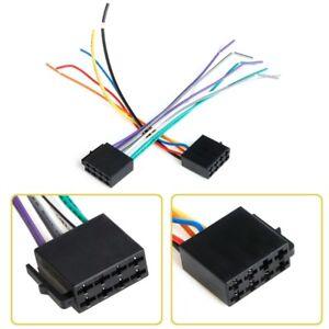 Universal ISO Wiring Harness Car Radio System Adaptor ... on antenna for radio, power cords for radio, power supply for radio,