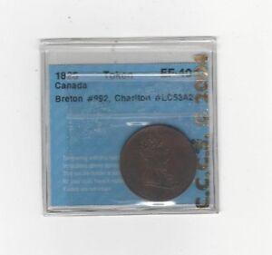 Can-Token-LC-53A2-Breton-992-CCCS-Graded-EF-40-Faciltate-Trade-Token