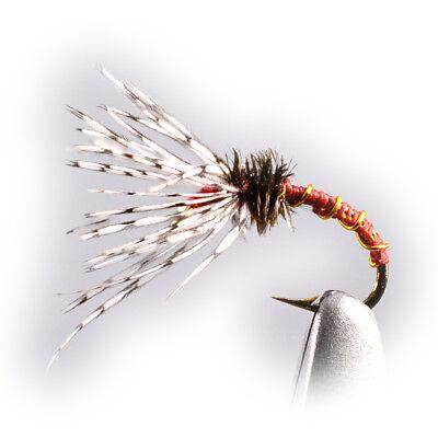 6ct Tenkara Flies Sakasa Kebari pattern #12