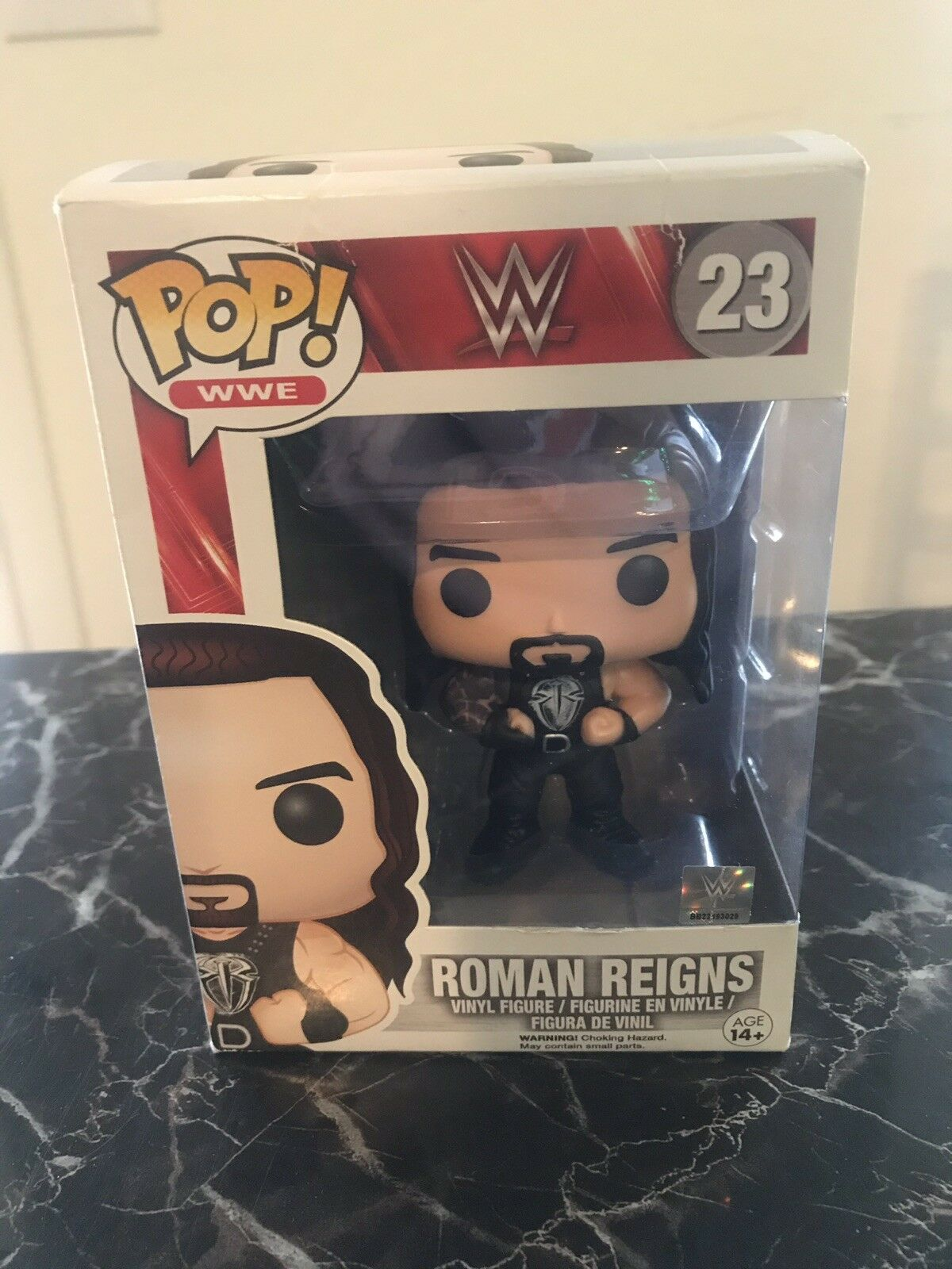 ROMAN REIGNS - Funko Pop    WWE Vinyl Figure Retired Official Licensed - NEW. 61a31b