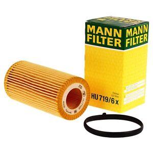 Mann-Filter-HU719-6x-Olfilter-fuer-AUDI-A3-A4-A6-VW-Golf-Passat-SKODA-Oktavia