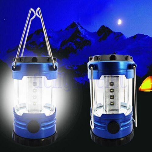 Multifunctional Ultra Bright 12 LED Camping Tent Hand Lantern Lights Hiking DE