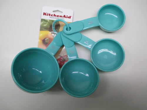 HAQA each sold separately KitchenAid kitchen utensils and towels in aqua sky
