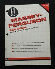 1990 Massey Ferguson Mf3505 Mf3525 Mf3545 Tractor I T Shop Service Repair Manual