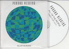 PANAMA WEDDING All Of The People UK 1-trk promo test CD radio edit