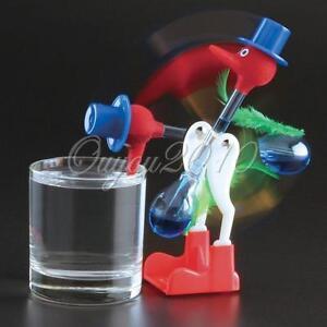 Novelty-Retro-Glass-Happy-Drinking-Bird-Bobbing-Dipping-Dippy-Einstein-Duck-Toy