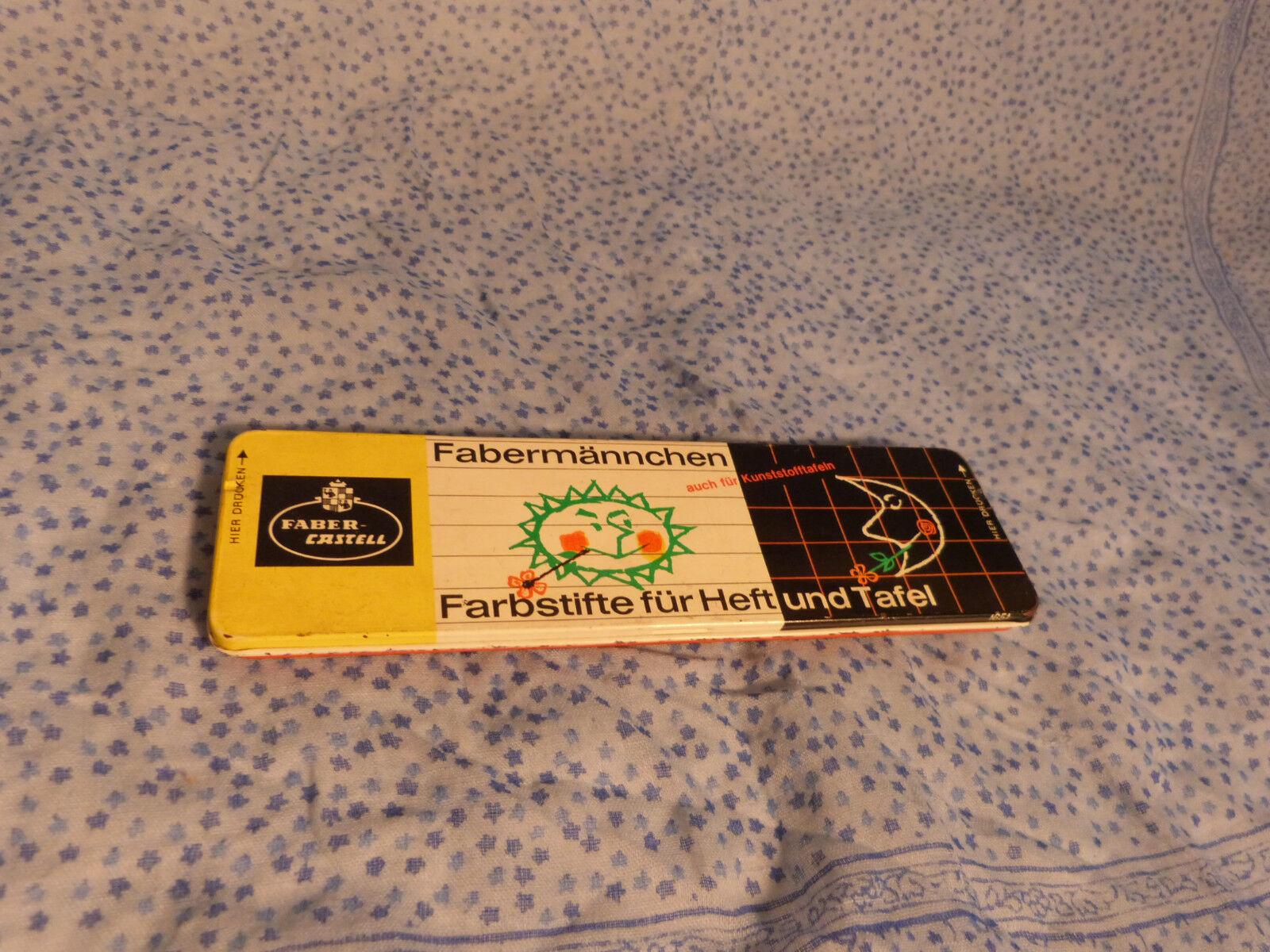 Faber-Castell Fabermännchen Metallschachtel 1650 für Papier und Tafel   Stifte   Outlet Store Online    Guter weltweiter Ruf    Günstige Bestellung