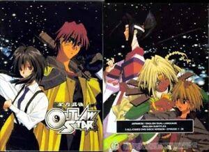 OUTLAW-STAR-Complete-TV-series-DVD-2006-3-Disc-Box-set-English-FREE-ship-USA