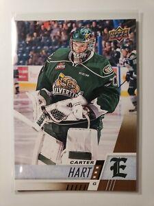Carter-Hart-Everett-Silvertips-Philadelphia-Flyers-2017-18-UD-CHL-Hockey-C