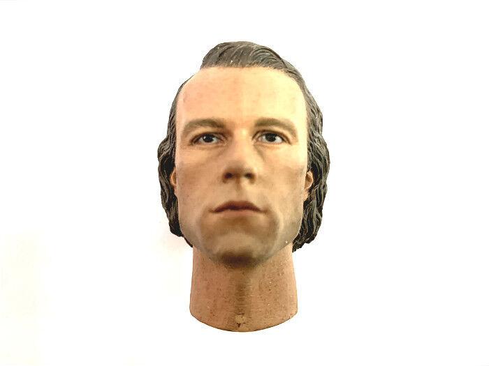 16 caliente giocattoli Scale Batuomo Joker Clown Heath Ledger Head Sculpt Fit 12corpo nuovo
