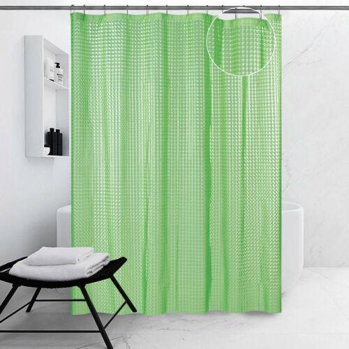NO Toxic No Odor Liner Shower Curtain ALL FOR YOU 100/% Safe PEVA 3D Design