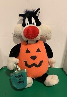 1997 Looney Tunes Halloween Sylvester Cat Pumpkin Costume ...