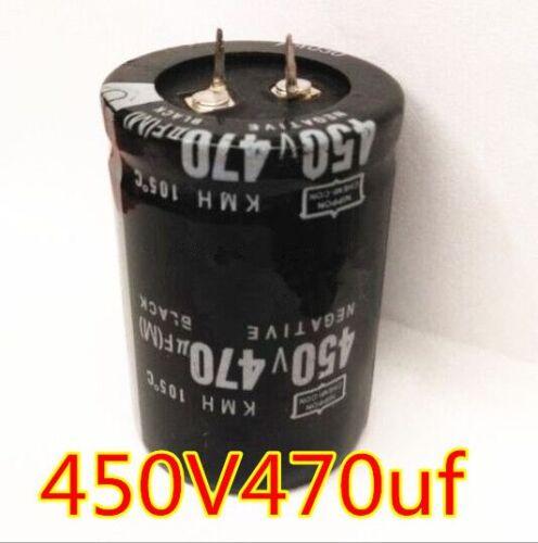 1PCS New 470uF 450V 470MFD 450Volt Electrolytic Capacitor 35mm×50mm Radial