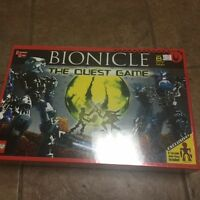 Lego Bionicle The Quest Game 1754 With 8 Toa Inika Pieces 2006 Sealed